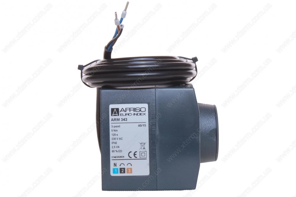 Электрический привод AFRISO ARM343 (3 точки, 120 сек., 230 В, 6 Нм) - 1