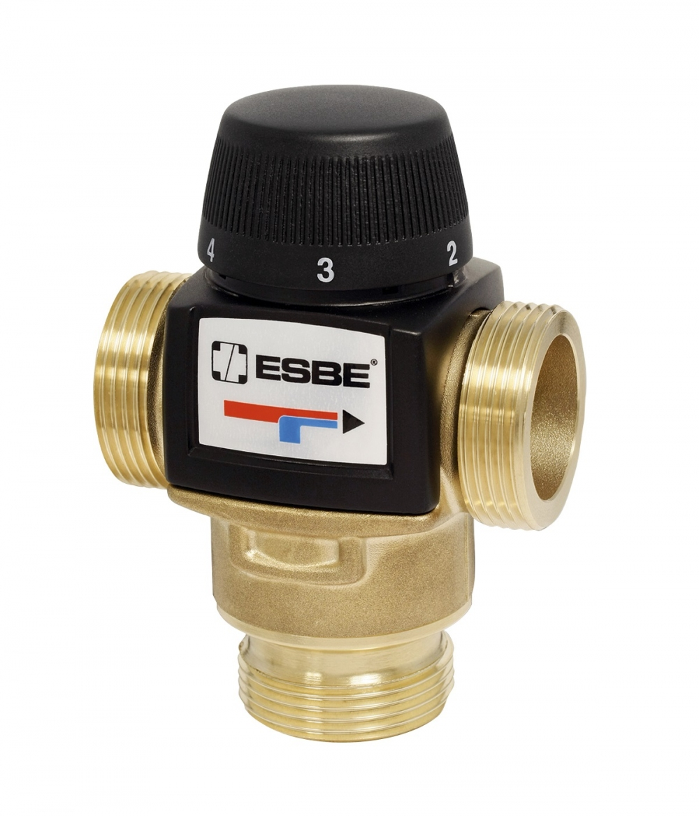 "Термостатический клапан 1"" ESBE VTA572 на теплый пол, радиаторы 20-55°C G1"" DN20 kvs 4,5 31702100 - 6"