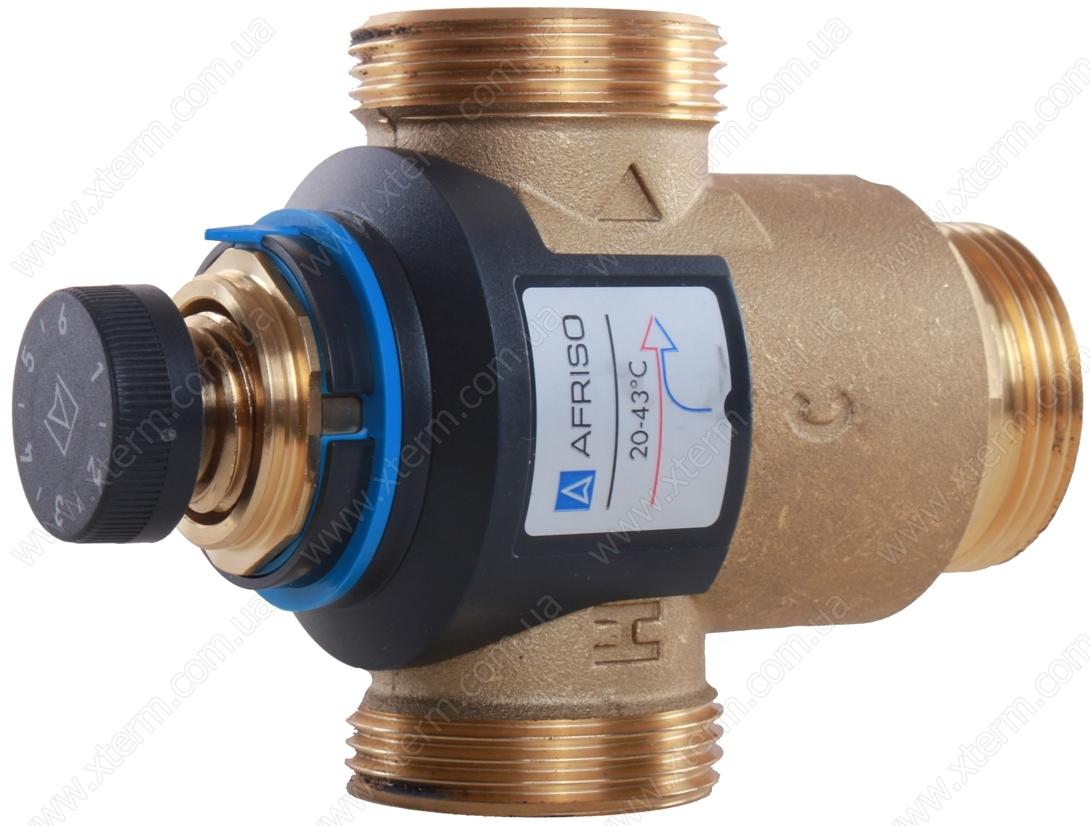 """Термостатический смесительный клапан Afriso ATM881 T=20-43°C G 1 1/4"""" Kvs 4,2 - 2"""