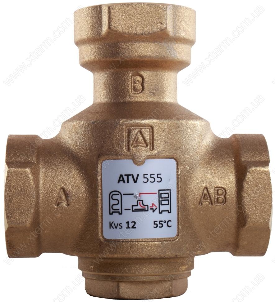 """Трехходовой термический клапан Afriso ATV553 T=45°C Rp 1 1/4"""" Kvs 12 - 1"""