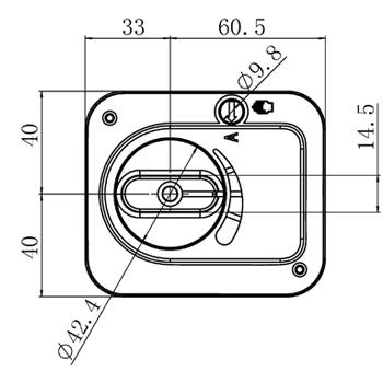 """Комплект: трехходовой поворотный смесительный клапан TOR 2"""", DN 50 и привод AZOG 3-точки, 124 сек, 8 Нм 230В - 4"""