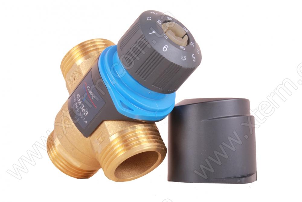 """Клапан от ожогов 1"""" Afriso ATM 363 T=35-60°C G 1"""" DN20 Kvs 1,6 термостатический смесительный  - 2"""