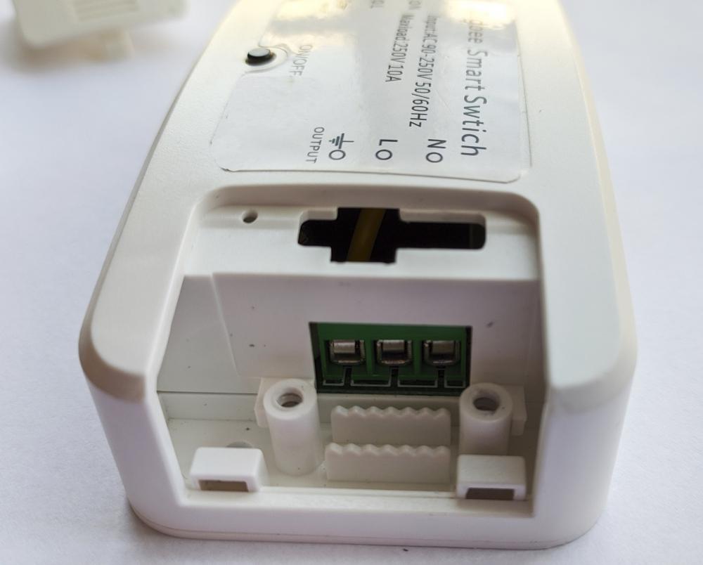 Умный дом: Беспроводной Zigbee переключатель (реле, выключатель) для умного дома Tervix Pro Line On/Off дистанционный - 1