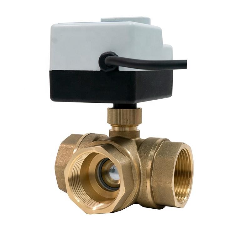"""3-ходовой шаровой клапан н/в 1"""" DN25 с электроприводом Tervix Pro Line ORC 3-way 202132 - 5"""