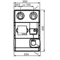 """Смесительная насосная группа ESBE GRA111 DN 25, 1 1/2""""х1"""", 6 бар, 4,8м³/ч  - 1"""