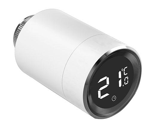 Умный дом: Комплект термоконтроль - контроллер (шлюз) Tervix Zigbee Gateway и 2 беспроводные радиаторные термоголовки Tervix EVA - 2