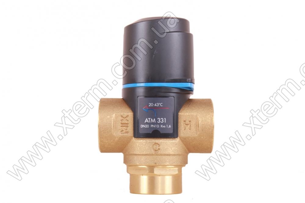 """Термостатический клапан 3/4"""" Afriso ATM333 с защитой от ожогов для ГВС T=35-60°C Rp 3/4"""" DN20 Kvs 1,6 1233310 - 2"""