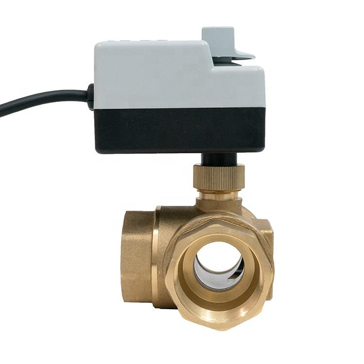 """3-ходовой шаровой клапан н/в 1"""" DN25 с электроприводом Tervix Pro Line ORC 3-way 202132 - 3"""