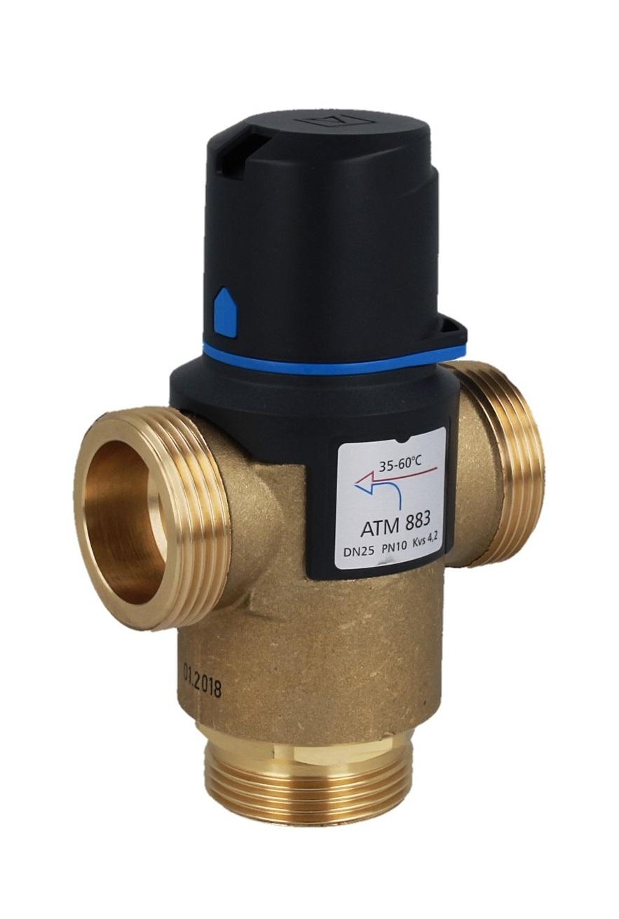 """Термостатический клапан 1 1/4"""" Afriso ATM883 с защитой от ожогов для ГВС 35-60°C G 1 1/4"""" DN25 Kvs 4,2 1288310 - 6"""