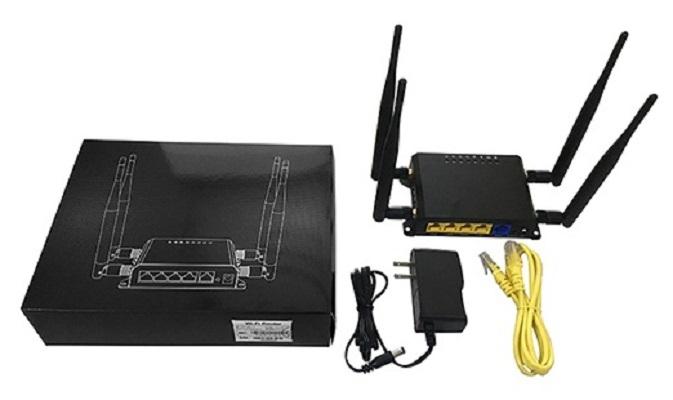 Умный дом: Роутер с поддержкой GSM симкарт 3G/4G + WiFi до 300 Мбит/с с автоперезагрузкой Tervix Pro Line Ethernet Router 3G/4G/Ethernet - 1