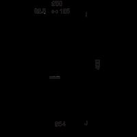 """Бивалентная насосная группа ESBE GBA111 DN 25, 1 1/2""""х1"""", 6 бар, 4,8м³/ч  - 1"""