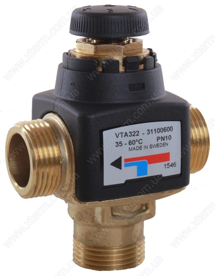 """ESBE VTA322 Термостатический смесительный клапан T=35-60°C G 3/4"""" Kvs 1,5 - 1"""