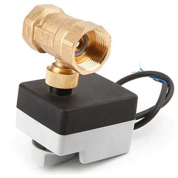 """Двухходовой шаровый клапан 1"""" нормально-открытый с приводом Tervix Pro Line ORC DN25, kvs 23,5, 230В АС, н/о, SPST 2 точки - 2"""