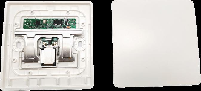 Умный дом: беспроводной кинетический выключатель Tervix Pro Line RF 433 MHz Switch (1 клавиша) - 2