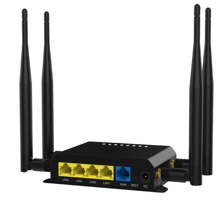 Умный дом: Роутер с поддержкой GSM симкарт 3G/4G + WiFi до 300 Мбит/с с автоперезагрузкой Tervix Pro Line Ethernet Router 3G/4G/Ethernet - 6