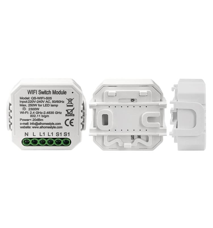 Умный дом: выключатель Tervix Pro Line WiFi Switch (1 клавиша / розетка) реле для скрытого монтажа - 4