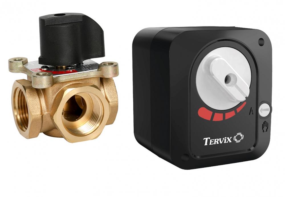 Беспроводное управление 2-х или 3-х ходовым переключающим приводом с клапаном по температуре (WiFi) - 3