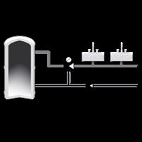 """Термостатический смесительный клапан 1/2"""" ESBE VTA312 для ГВС 35-60°C DN 15 Kvs 1,2 31050200 - 3"""