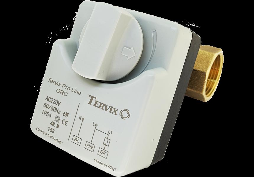 Умный дом антипотоп без интернета и проводов Tervix ZigBee Water Stop, комплект на 1 вводную трубу (1 клапан) защита от затопления - 3