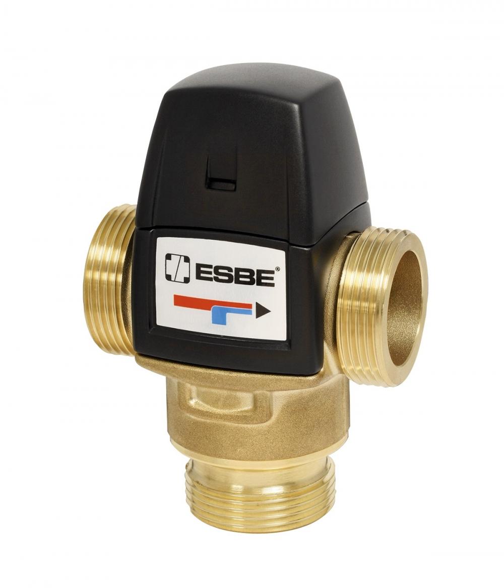 """Термостатический клапан 1"""" ESBE VTA522, с защитой от ожогов для ГВС 20-43°C G1"""" DN20 kvs 3,2 31620100 - 6"""