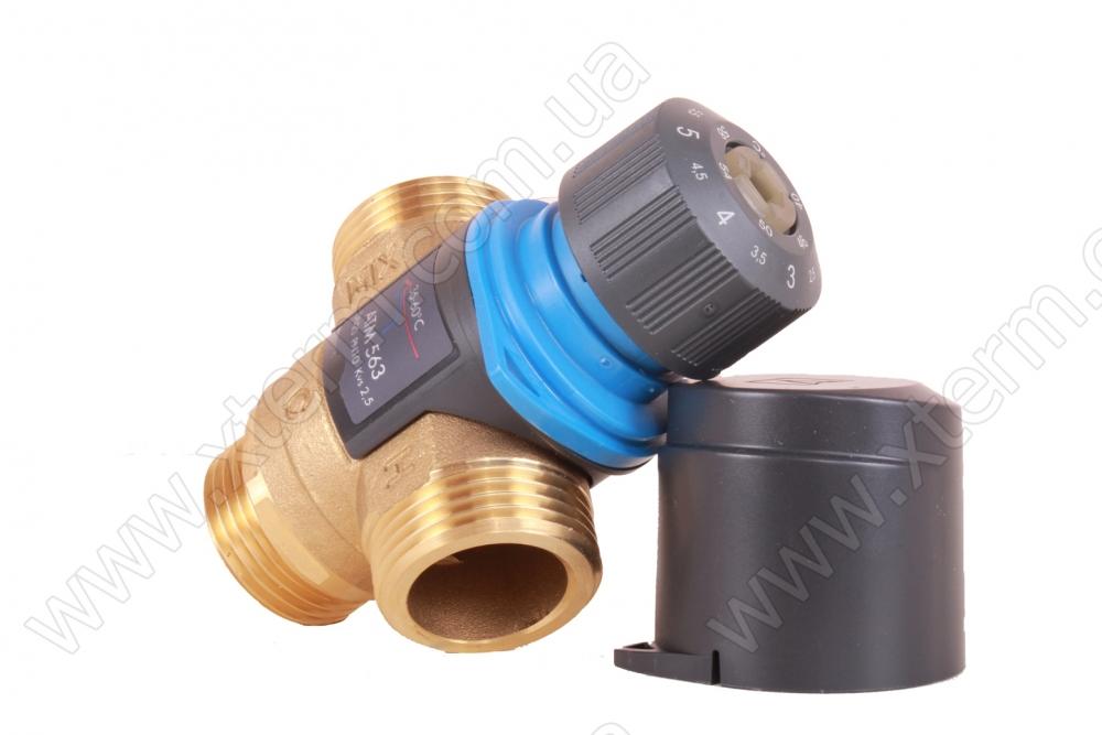 """Термостатический клапан 1"""" Afriso ATM561 на теплый пол T=20-43°C G 1"""" DN20 Kvs 2,5 1256110 - 2"""