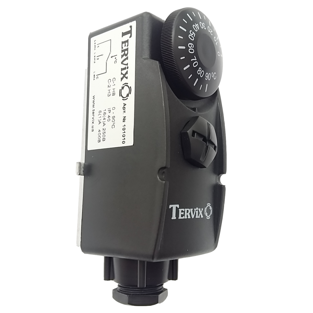 Термостат накладной Tervix Pro Line (black) - 3