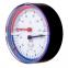 Термогидрометр Afriso ТН80, 20-120°С, 60 м. водяного столба, аксиальный - 2